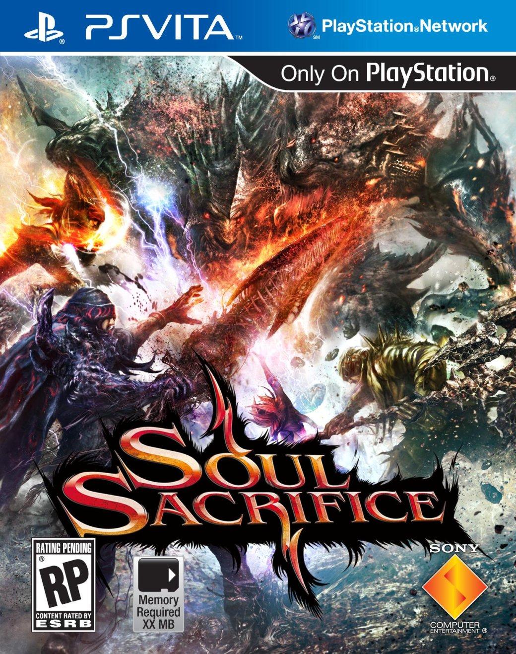 Бокс-арт и дата выхода Soul Sacrifice