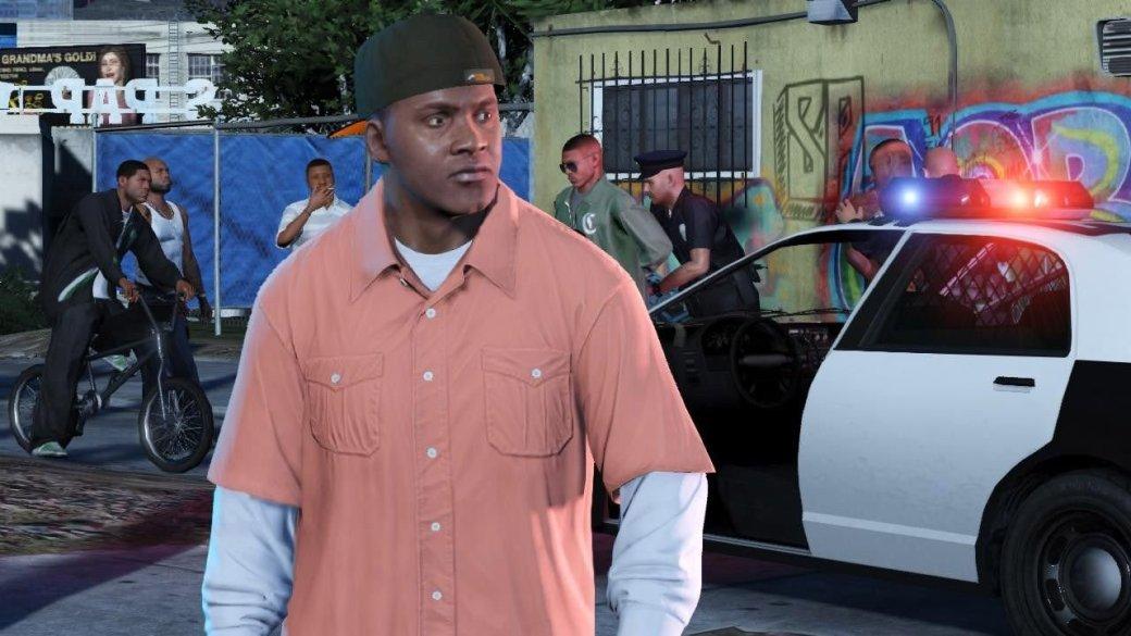 Гифка дня: сопротивление бесполезно вGrand Theft Auto5