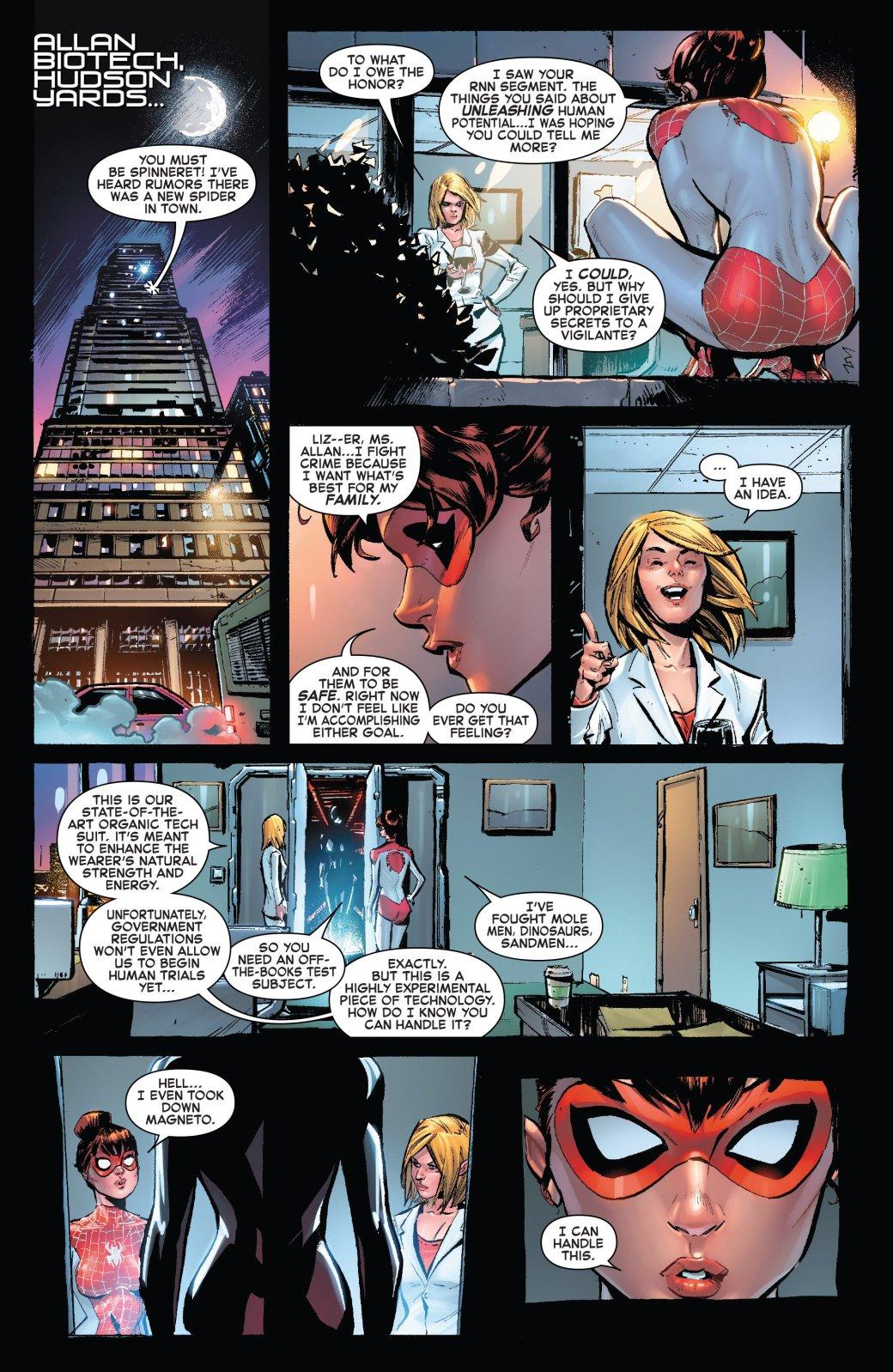 Еще немного Венома: Мэри Джейн стала новым носителем симбиота