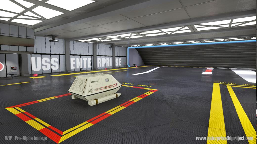 «Энтерпрайз» из Star Trek воссоздан с поддержкой Oculus VR