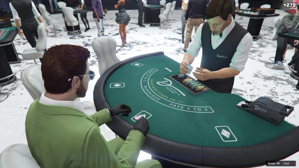 В GTA Online спустя шесть лет после релиза открылось казино. Говорят, это самое живое место в игре!