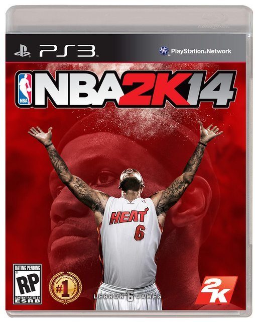 Леброн Джеймс стал лицом обложки NBA 2K14