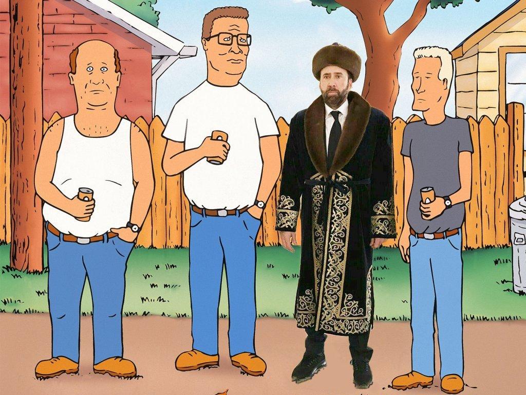 Николас Кейдж предложил снять кино о голливудских звездах в Казахстане