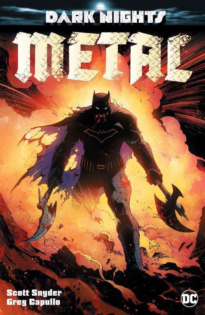 Первые подробности главного летнего комикса DC – Dark Nights: Metal