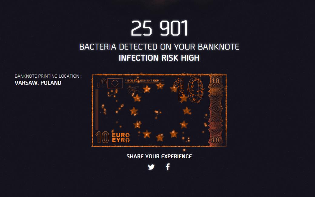 Мойте руки перед едой: промо The Division находит бактерии на деньгах