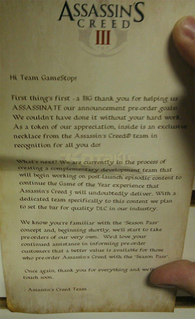 Ubisoft планирует расширить Assassin's Creed III после выхода