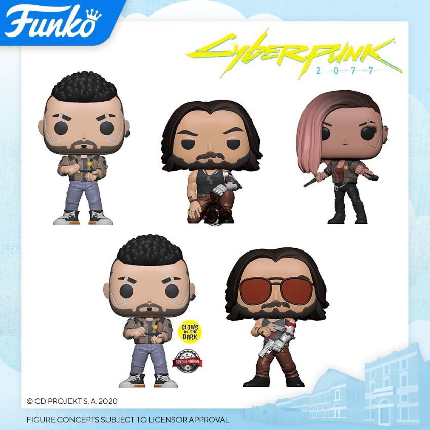 Funko выпустит милые фигурки героев Cyberpunk 2077