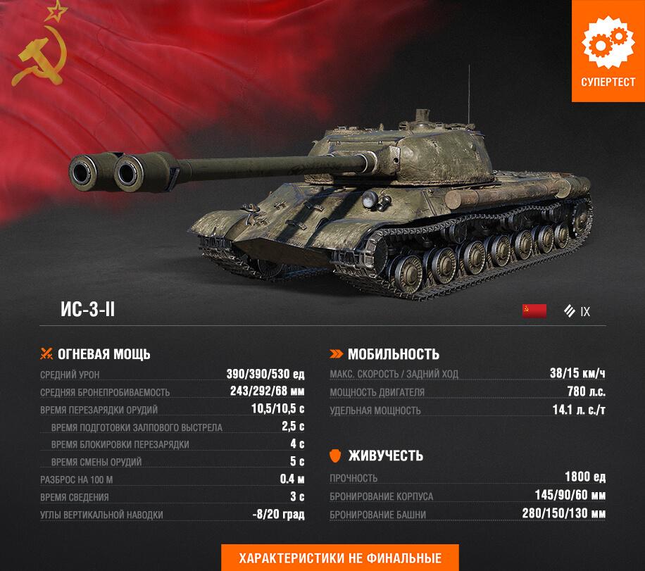 В обновлении 1.7.1 для World of Tanks выйдет ветка двуствольных танков