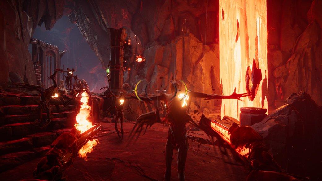 2 часа сMetal: Hellsinger— шутером про адиметал. Всаундтреке— участники Trivium иArch Enemy