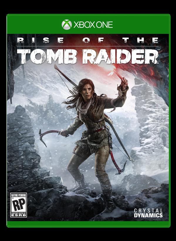Лара карабкается по горе в трейлере Rise of the Tomb Raider