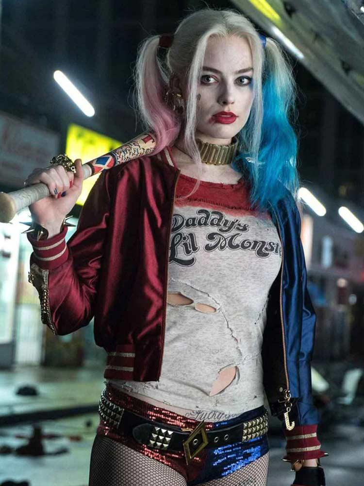 Автор «Отряда самоубийц» показал новый альтернативный костюм Харли Квинн