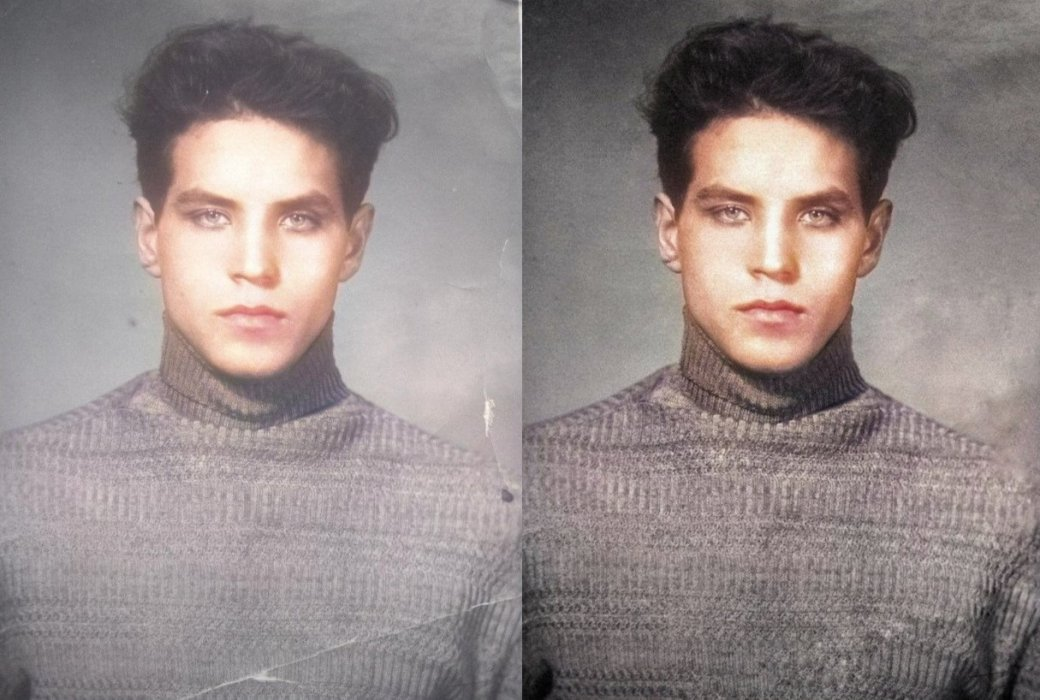 Фото дедушки вмолодости покорило интернет. Люди удивились его красоте