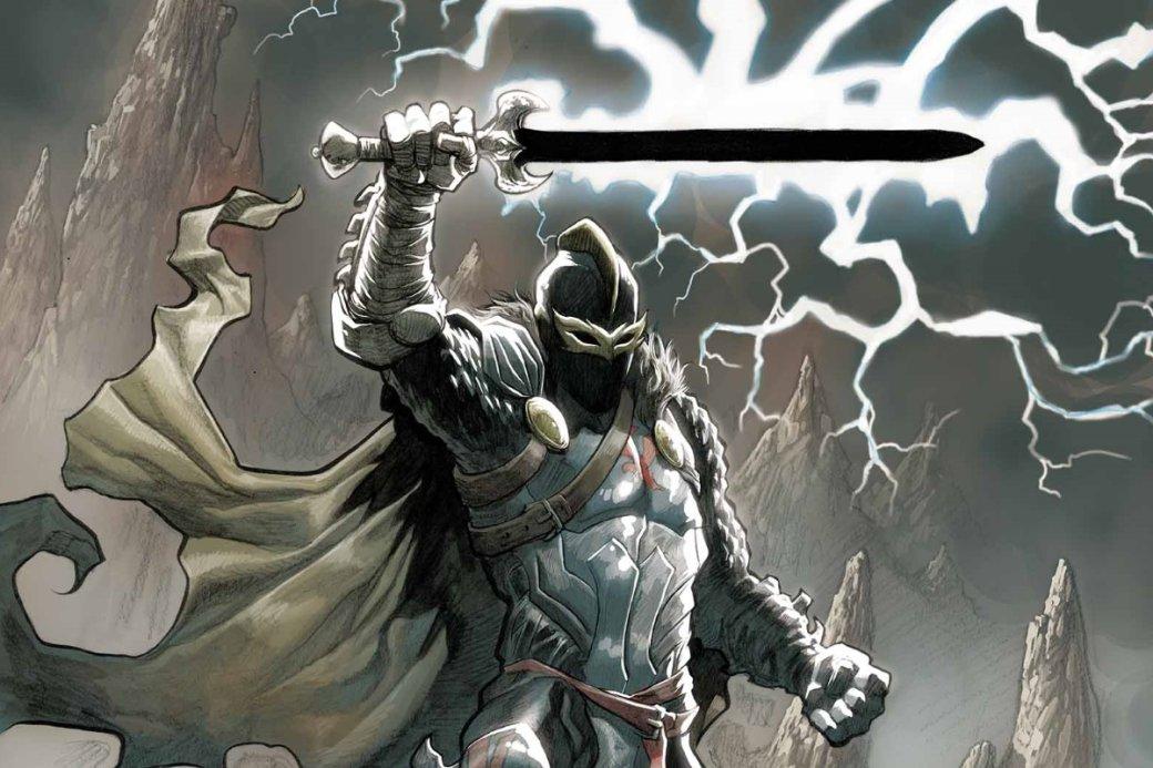 НаD23 анонсировали, что известный пороли Джона Сноу Кит Харрингтон сыграет Черного рыцаря вфильме «Вечные» (Eternals). Ночто это заперсонаж иоткуда онвзялся?