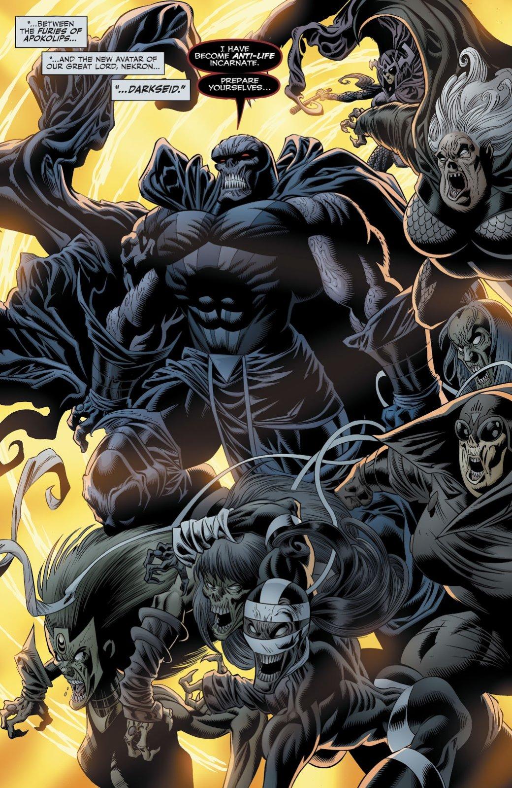 Темнейшая ночь стала еще темнее. Как Лобо иСинестро спасали мир отсмерти