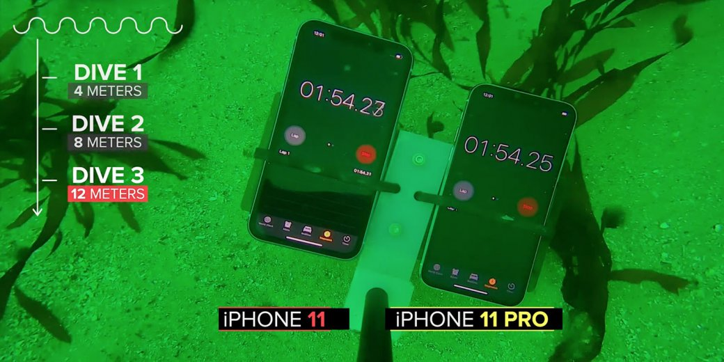 iPhone 11 иiPhone 11 Pro топили-топили инеутопили