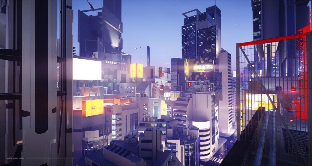 Оригинальная Mirror's Edge стала одной из моих самых любимых игр, в свое время я прошел ее бесчисленное количество раз. Меня покорили выделяющийся визуальный стиль и свежие ощущения, которые я получал от паркура. Город зеркал был образцом антиутопии, внешне стерильный, играющий на контрасте цветов, но с прогнившей системой контроля внутри. Игра, завоевав любовь фанатов, не стала безоговорочным хитом, мало кто верил в продолжение, но из года в год все ждали анонс на Е3. И вот, спустя восемь лет, пришло время снова вернуться в мир зеркал, чтобы начать все сначала. Добро пожаловать в Mirror's Edge Catalyst!