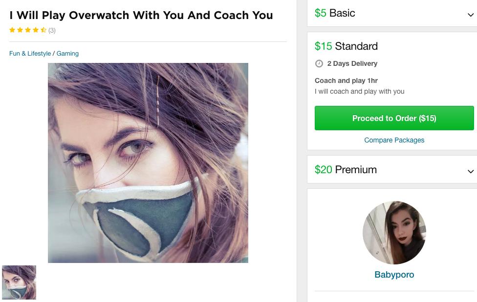 «Язаплатила, чтобы девушки сыграли сомной вOverwatch. Было круто»