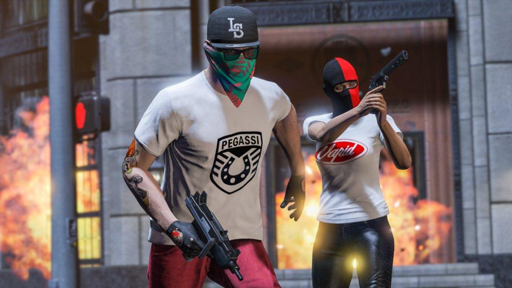 Онлайн-режим Grand Theft Auto Vпополнился новой «Битвой наарене» иновогодними подарками