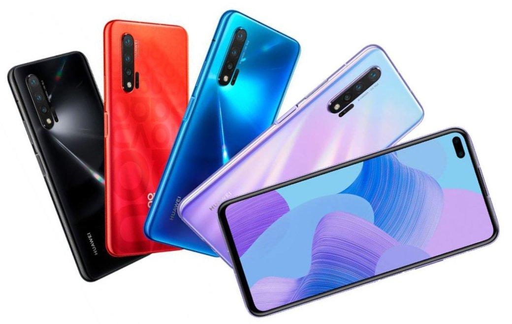 Представлен флагман Huawei Nova 6: новый любимчик поклонников селфи