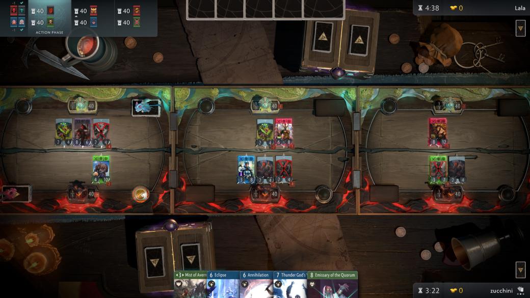 Смерть героев и 3 стола: что мы знаем о карточной игре Artifact
