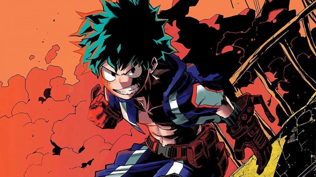 Второй аниме-фильм по«Моей геройской академии» обзавелся пафосным постером