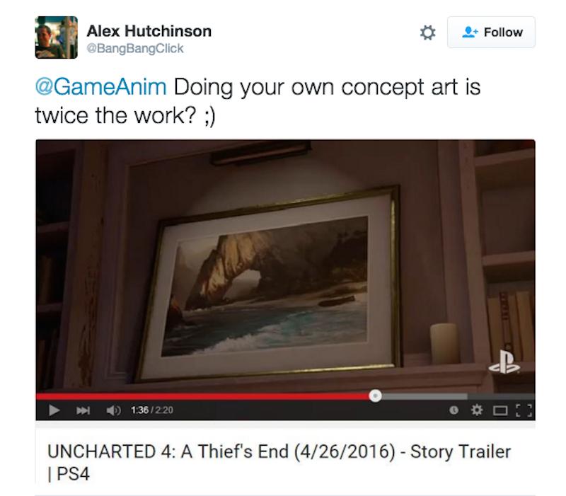 Naughty Dog извинилась перед Ubisoft за вора из Uncharted 4