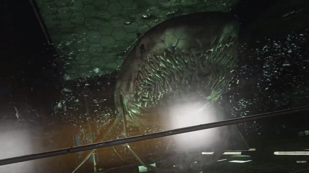 Брюс Кэмпбелл против зомби-акулы в новом DLC Advanced Warfare