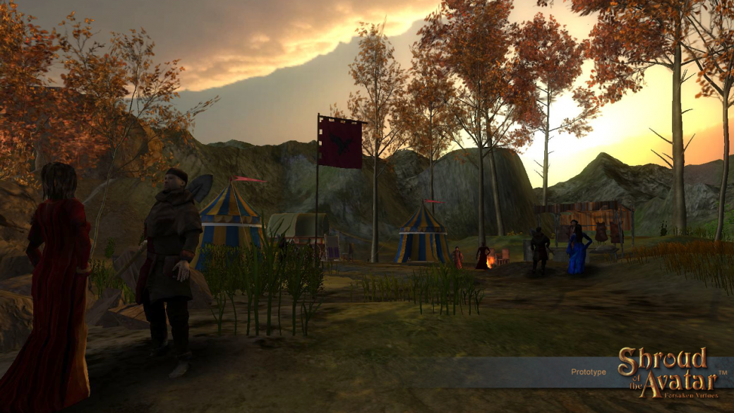 Shroud of the Avatar Гэрриота прошла отбор в Steam Greenlight