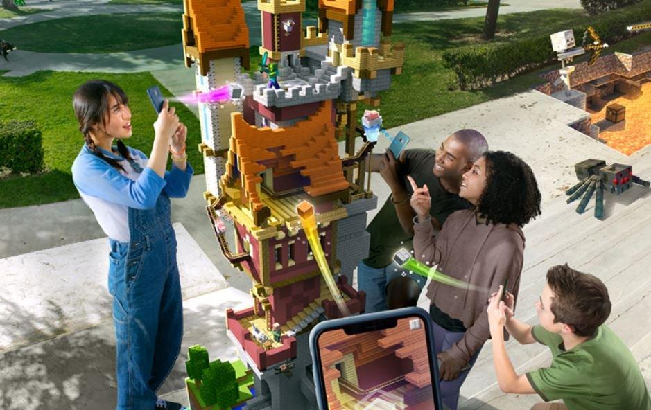 Microsoft представила мобильную Minecraft Earth— сдополненной реальностью вдухе Pokemon Go