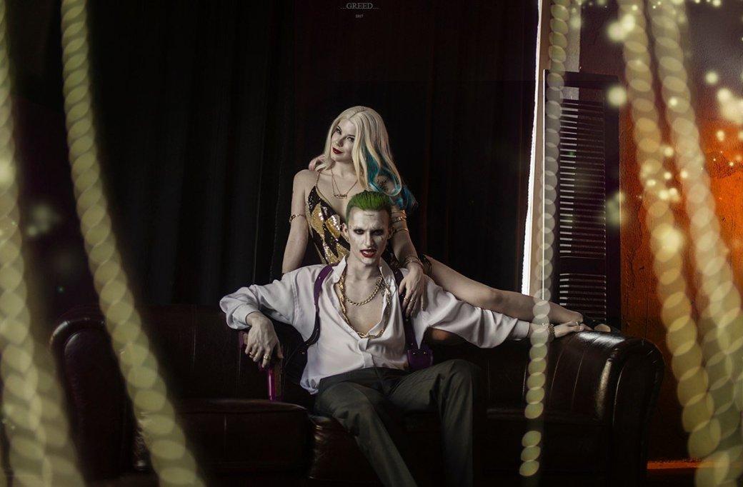 Косплей дня: восхитительная Харли Квинн и Джокер из «Отряда самоубийц»