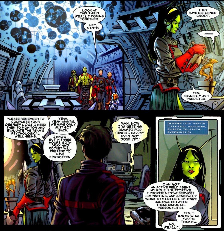 Создатель Мантис недоволен образом персонажа в «Стражах Галактики 2»