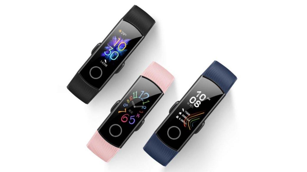 Фитнес-трекер Honor Band 5— достойный конкурент Xiaomi MiBand 4с NFC иценой 2000 рублей