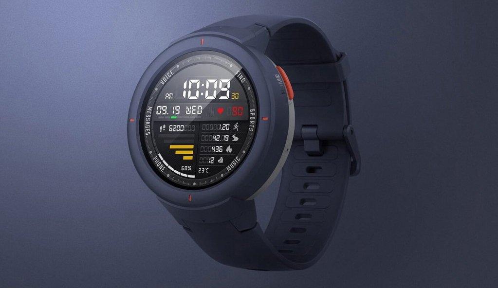Вышли Huami Amazfit Verge2: новые смарт-часы откомпании производителя MiBand4
