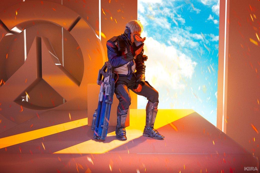 Есть еще порох в пороховницах: Ана и Солдат-76 в невероятно красочном косплее