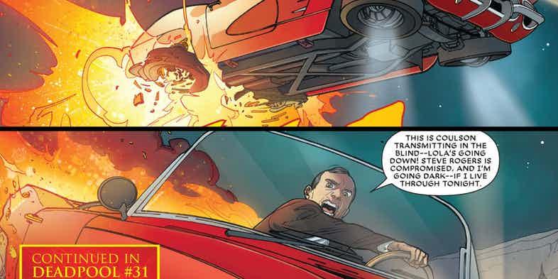 Кумир предал фаната: агент Колсон не смог остановить Капитана Америка