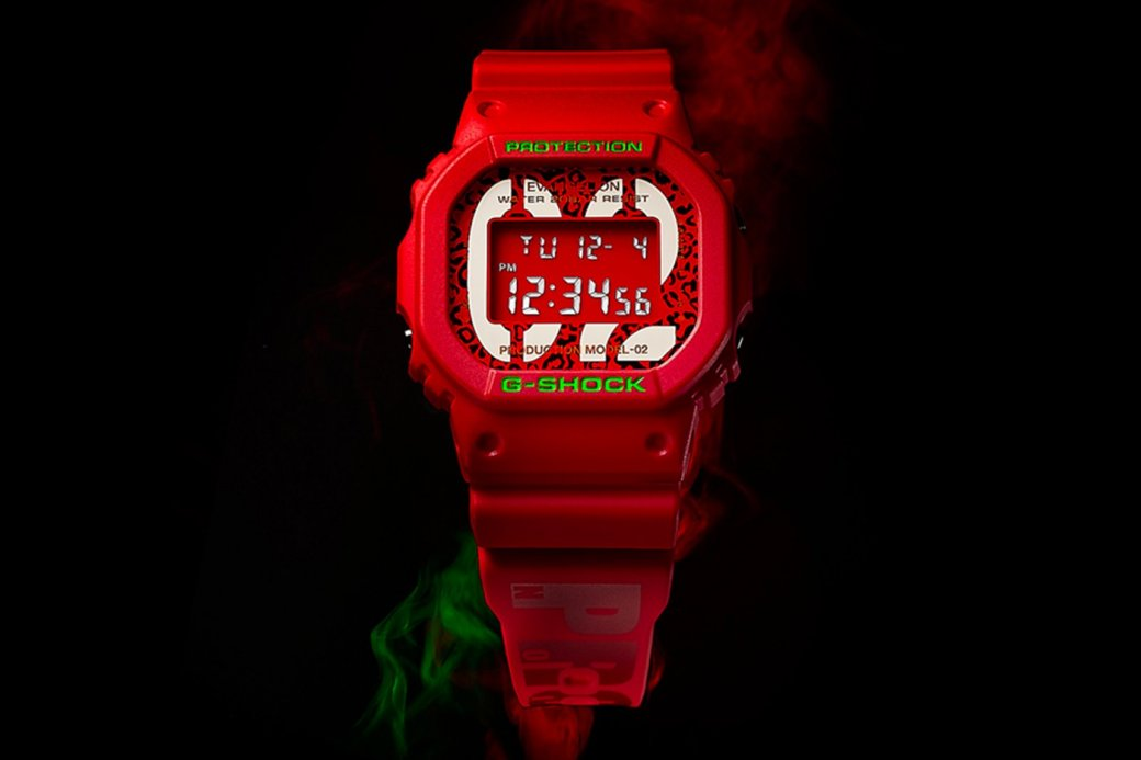 Casio представил часы G-Shock в коллаборации с аниме «Евангелион»
