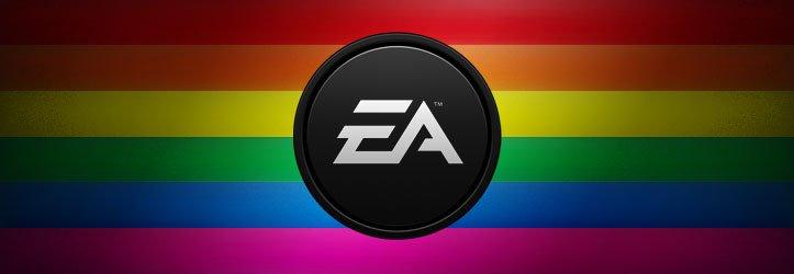 Electronic Arts в очередной раз поддержала однополые браки