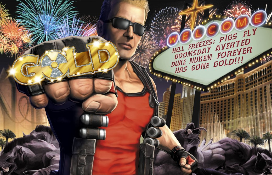 Это победа: Gearbox —единственный владелец прав на Дюка Нюкема