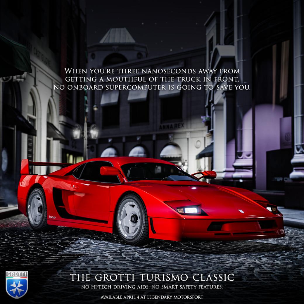 ВGTA Online появился клон Ferrari F40 истартовали скидки