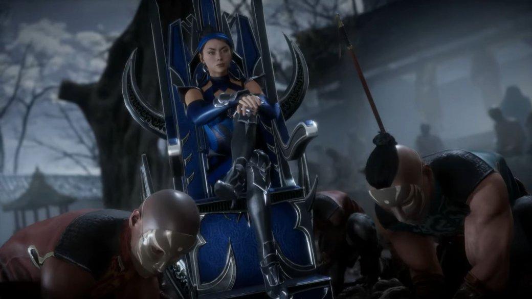 Художник стилизовал героинь Mortal Kombat под диснеевских принцесс