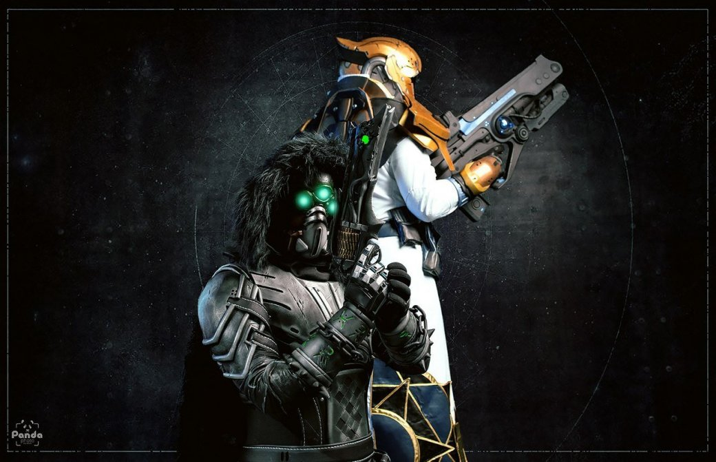 Косплей дня: футуристические костюмы Стражей из Destiny