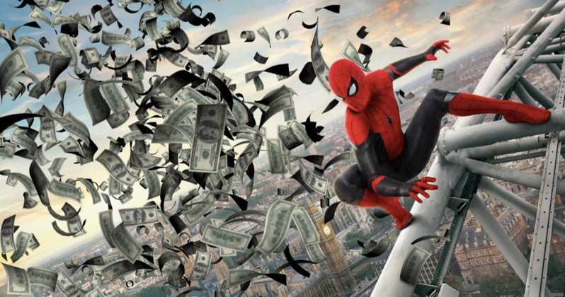 Фильм про Человека-паука впервые собрал миллиард долларов. Поздравляем «Вдали от дома»!