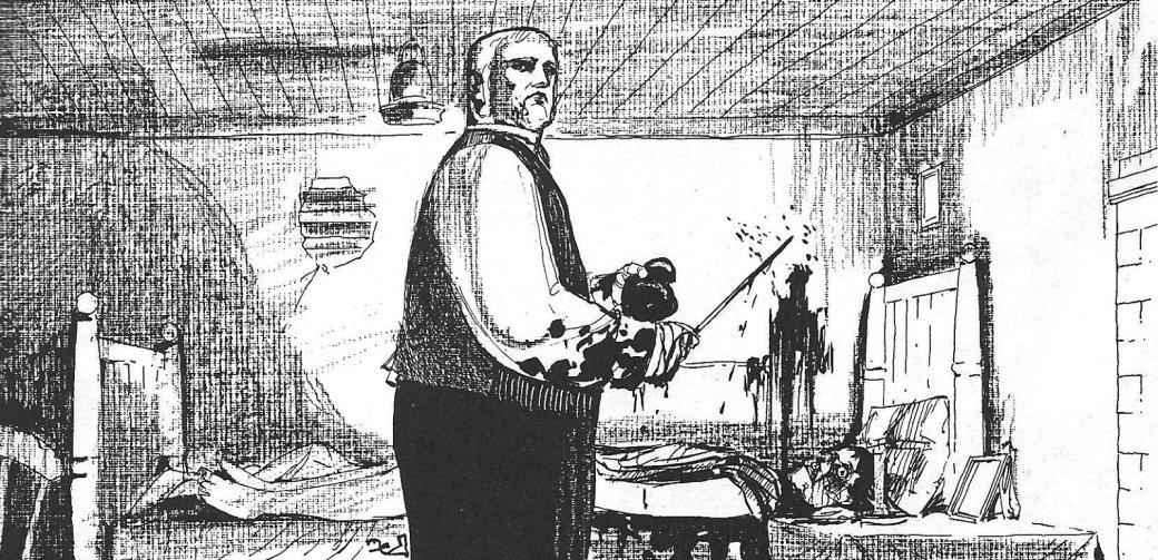 Изада: образ Джека Потрошителя виграх, кино, комиксах икнигах