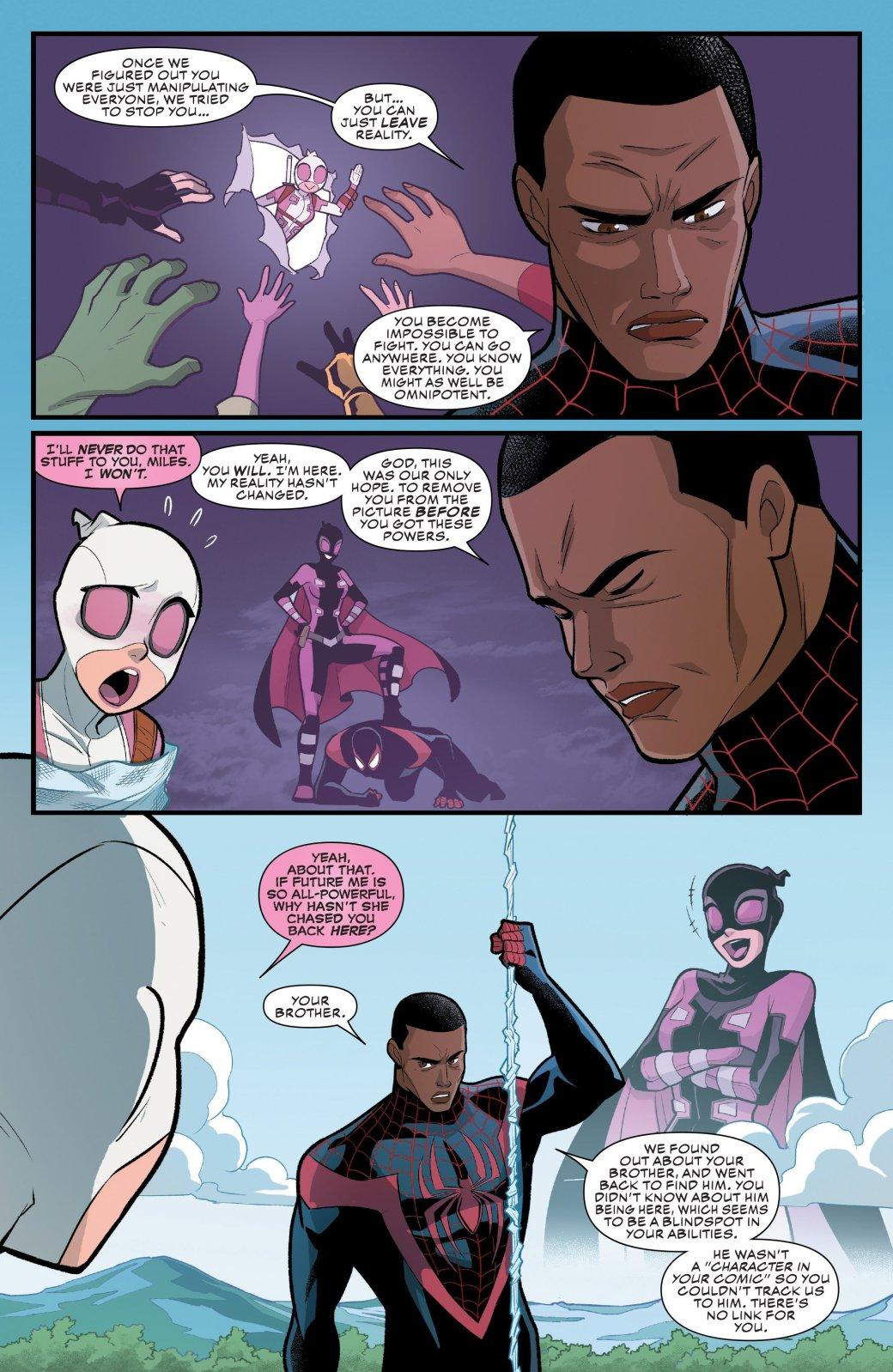 Гвенпул против вселенной Marvel: начто способна сила спойлеров?