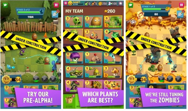 Plants vs. Zombies 3 существует, но поиграть в нее пока что сложно