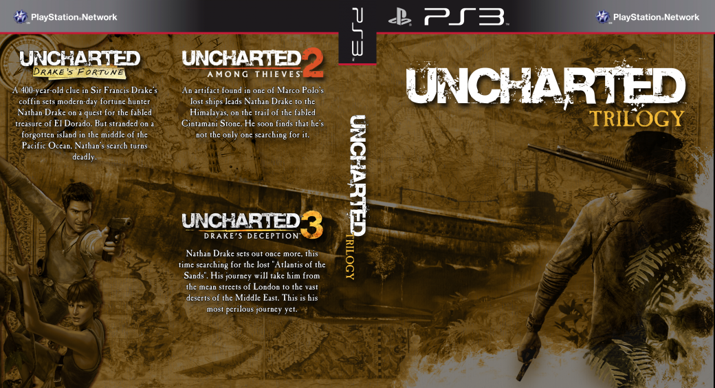 Швейцарский магазин предлагает Uncharted Trilogy HD Edition