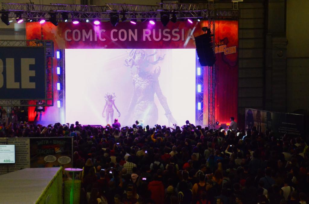 ФОТО. «ИгроМир» иComic Con Russia 2018