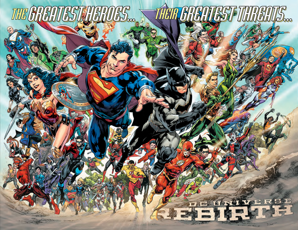 DC Rebirth исполнился год: удалось ли издательству начать все заново?