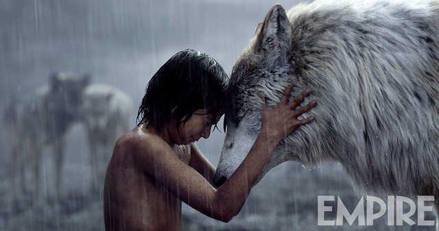 Новое фото «Книги джунглей»: Маугли и мать-волчица