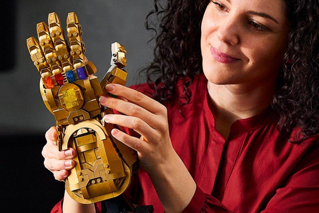 LEGO выпустил набор с перчаткой бесконечности из «Мстителей»